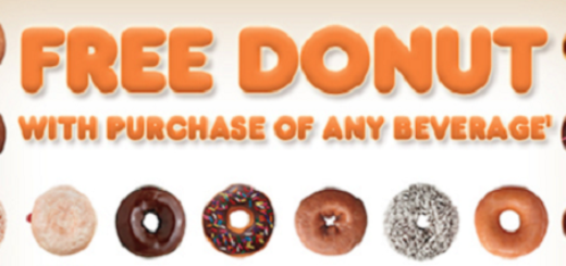 Dunkin Donuts coupon FREE Donut
