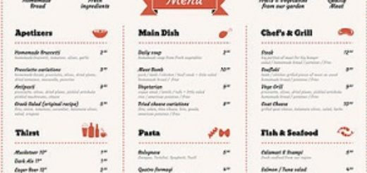 restaurant menu prices